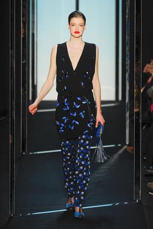 Показ Diane Von Furstenberg коллекции сезона Осень-зима 2011-2012 года prêt-à-porter - www.elle.ru - Подиум - фото 228335