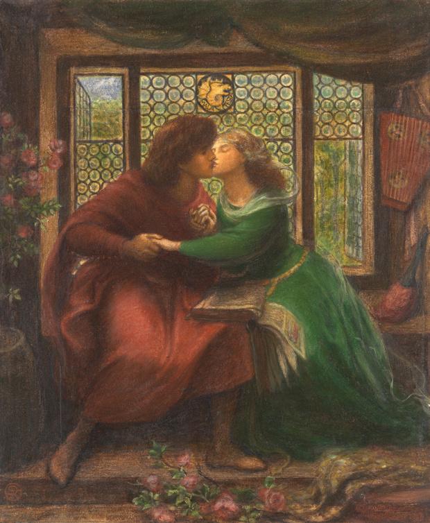Любовное настроение: 24 культовые скульптуры, картины и фотографии поцелуев (фото 46)