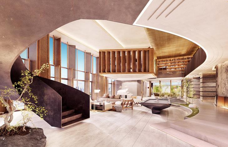 Новая резиденция Ritz-Carlton от Пьеро Лиссони во Флориде (фото 1)