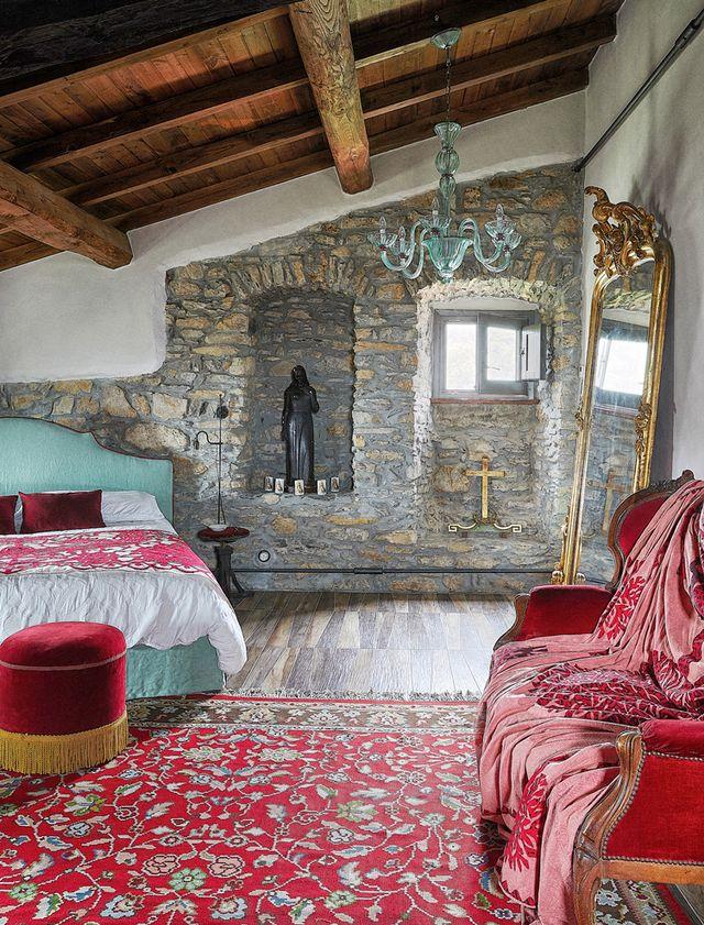 La Fortezza: каменный дом XII века в Италии (фото 6)