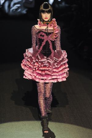 Показ Betsey Johnson коллекции сезона Осень-зима 2011-2012 года prêt-à-porter - www.elle.ru - Подиум - фото 229353