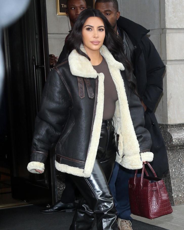 Кожаная куртка с мехом — лучшая покупка ноября (фото 4)