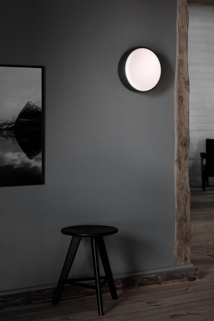 черно-белые светильники