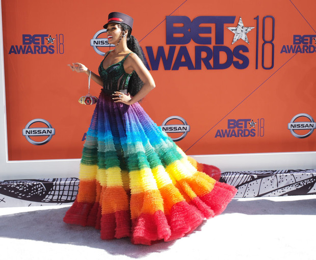 Лучшие образы нацеремонии BET Awards (фото 8)