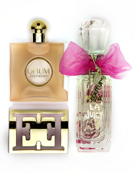 Escada, La Fleur, Juicy Couture,Yves Saint Laurent
