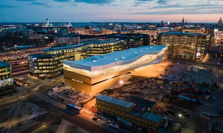 Книжный рай: библиотека в Хельсинки (фото 0)