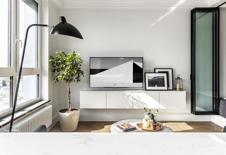Квартира 34 кв. м: проект мастерской Geometrium (фото 0)