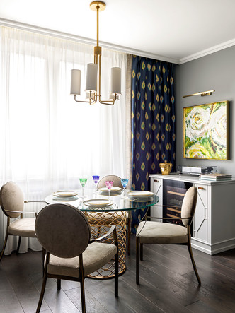 Квартира 80 кв. м в Москве: пространство для настроения (фото 6)