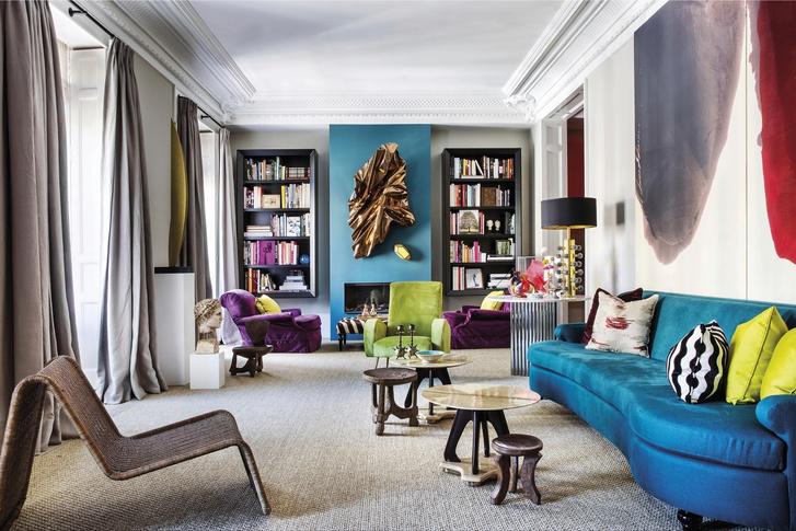 Жизнь прекрасна: квартира в центре Мадрида (фото 0)