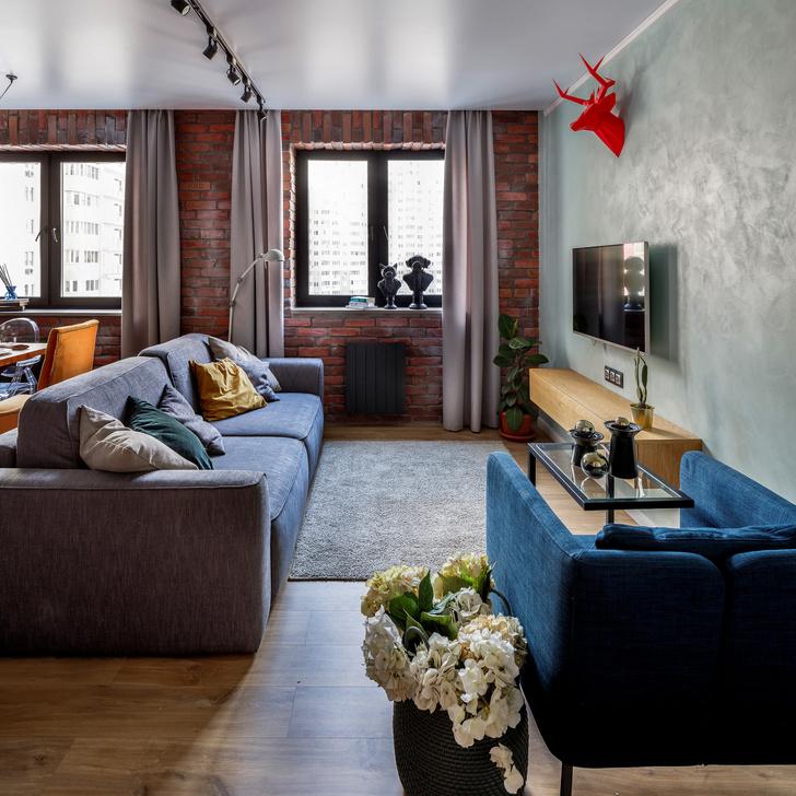 Квартира в современном стиле с элементами лофта в Самаре (фото 3)
