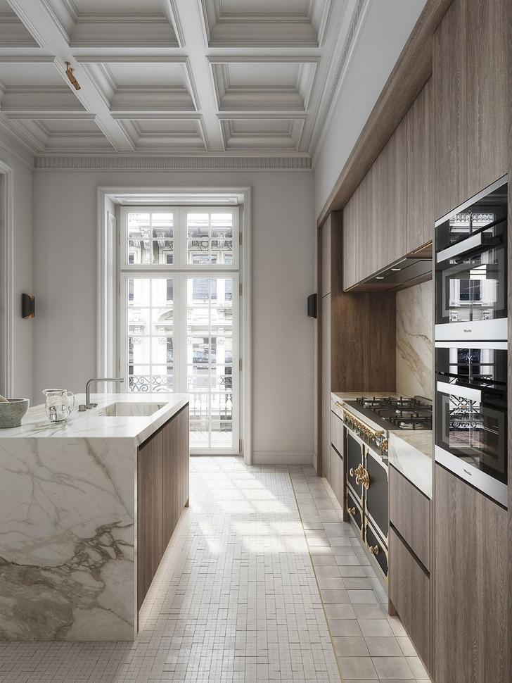 Современная классика: квартира 182 м² в Милане (фото 9)