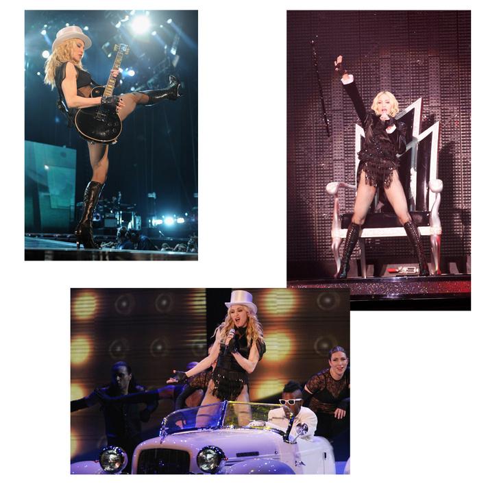 На сцене с Мадонной: лучшие концертные туры певицы (фото 9)