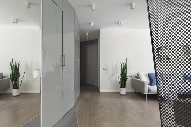 Эмоциональный минимализм: квартира 59 м² в Москве (фото 9)