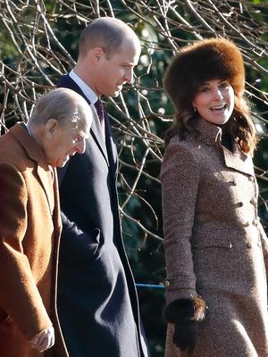 Кейт Миддлтон и принц Уильям посетили воскресную службу (фото 2)