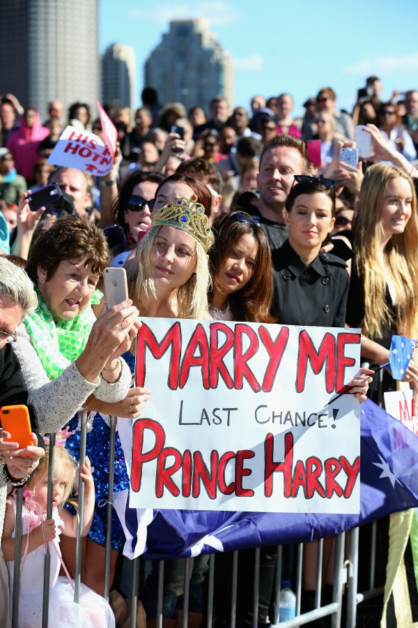 Поцелуй с принцем Гарри