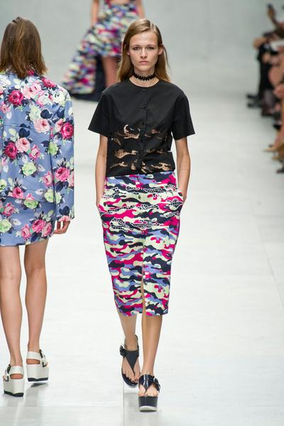 Carven на Неделе моды в Париже