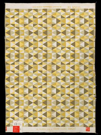 Ткани по дизайну Фрэнка Ллойда Райта на выставке в Нью-Йорке (фото 6.2)
