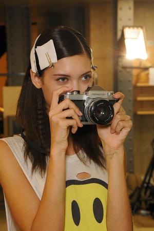 Показ Costume National коллекции сезона Весна-лето 2012 года Prêt-à-porter - www.elle.ru - Подиум - фото 324131