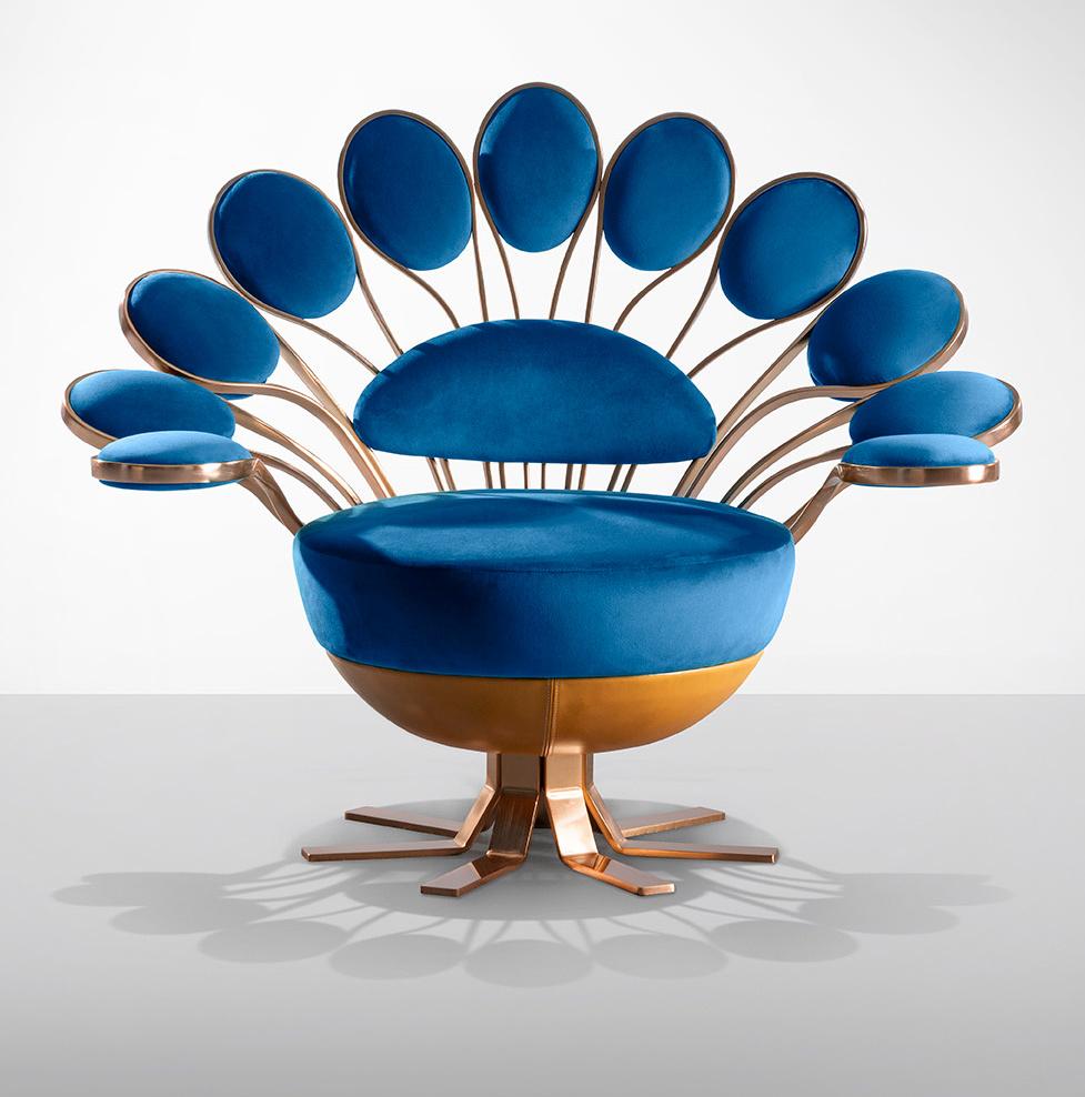 """Кресло """"Павлин"""" от Visionnaire (галерея 2, фото 4)"""