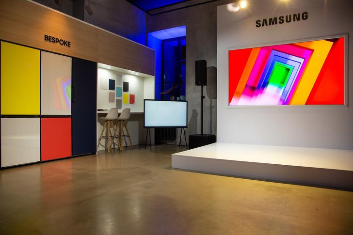 Открытие pop-up пространства Samsung в Москве (фото 5)