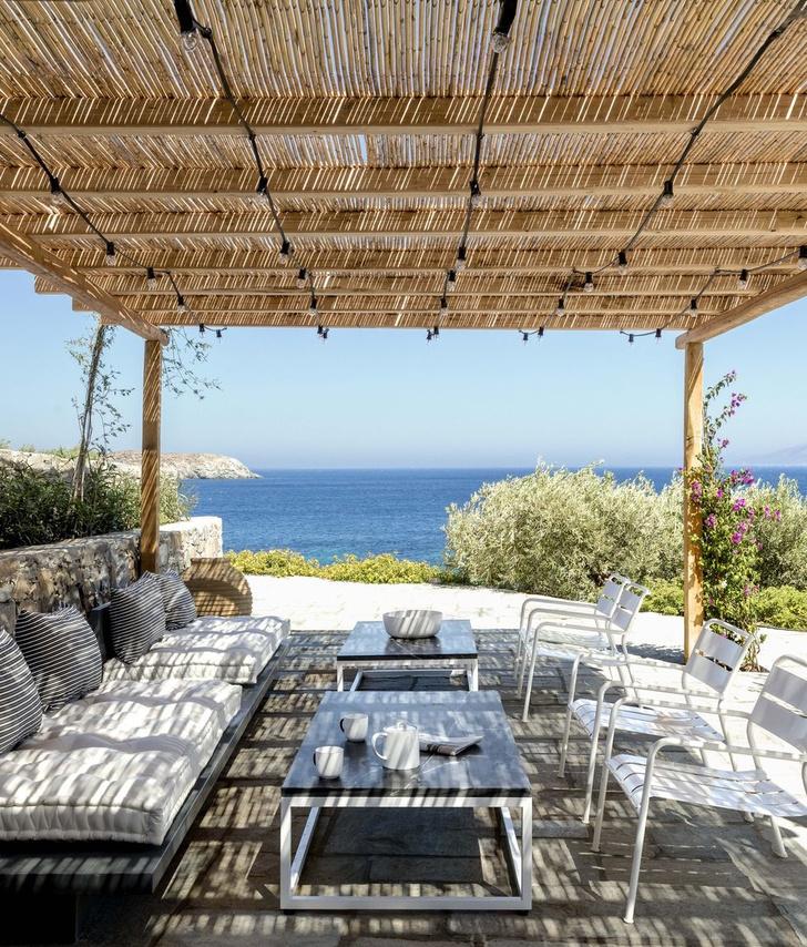 Дом дизайнера Эндрю Шейнмана в Греции (фото 8)
