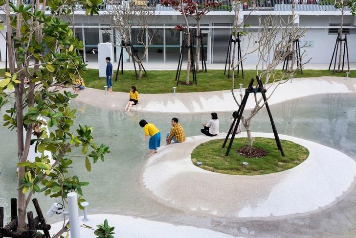 Городской бассейн на месте бывшего долгостроя в Тайнане (фото 6)