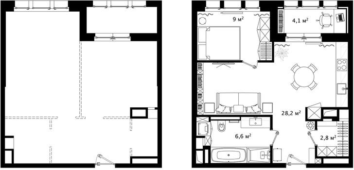 Первый план: все, что нужно знать о планировке маленьких квартир (фото 18)