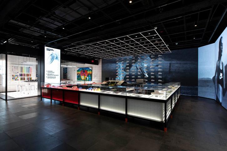Флагманский бутик Nike в Нью-Йорке (фото 4)