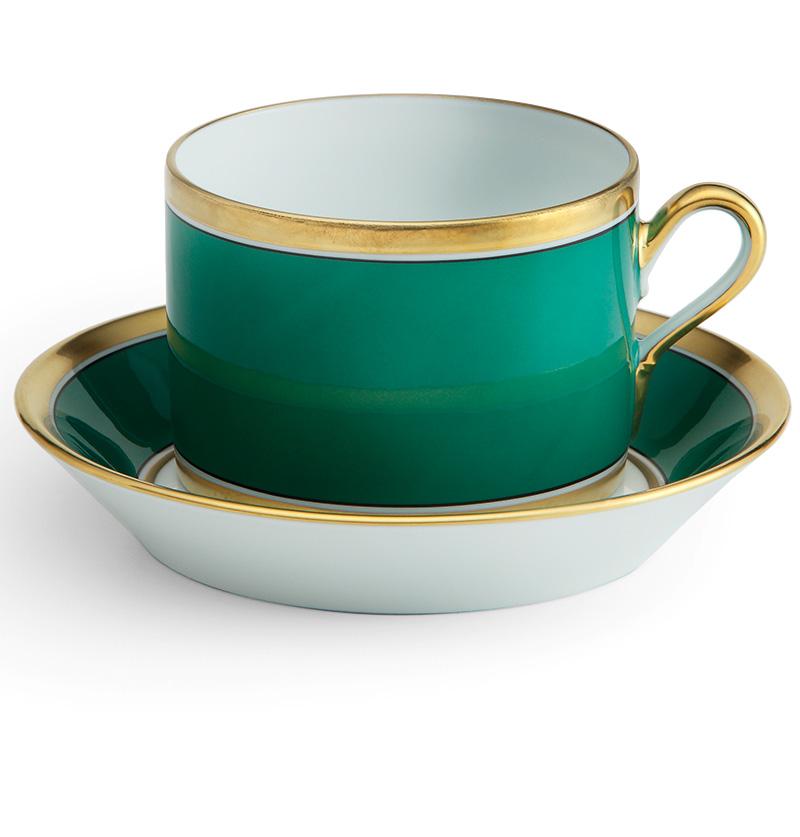 Чайная пара, коллекция Contessa, Richard Ginori, салоны Lege Alto, «Дом Фарфора».