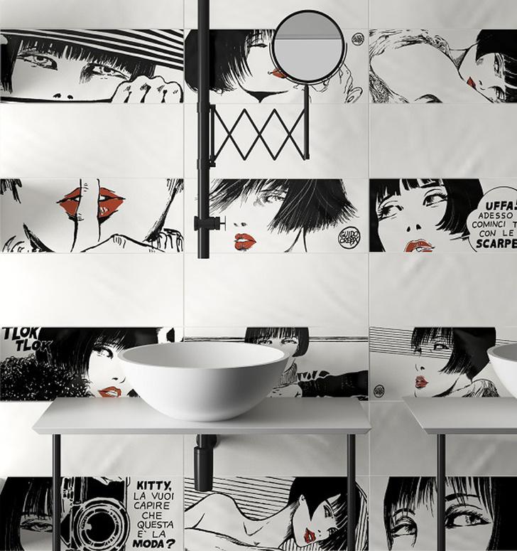 Новинки выставки CERSAIE 2017: стильная керамика, сантехника и мебель для ванной фото [30]