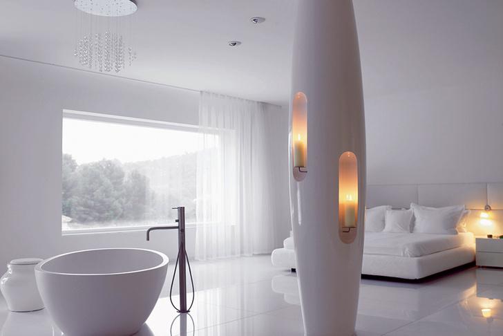 Спальня плюс ванная