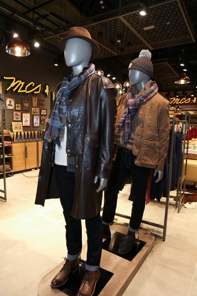 В ТЦ «Авиапарк» открылись бутики Henry Cotton's, MCS и Marina Yachting