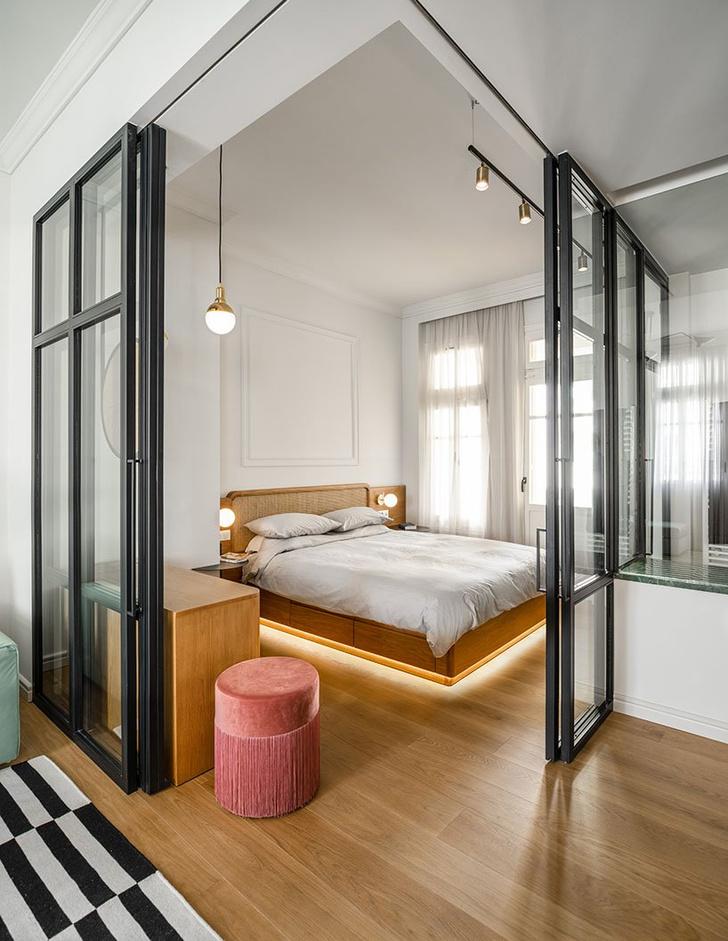 Бра в спальне: 20 стильных примеров (галерея 1, фото 16)