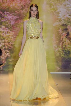 Показ Zuhair Murad коллекции сезона Весна-лето 2014 года haute couture - www.elle.ru - Подиум - фото 575372