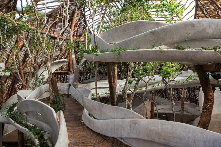 Отель Azulik с pop-up бутиком Dior в джунглях Тулума (фото 2)
