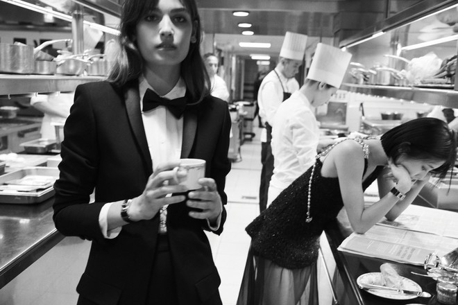 Элис Деллал, Нозоми Лиджима и Альма Ходоровски в новой истории Chanel (фото 3)