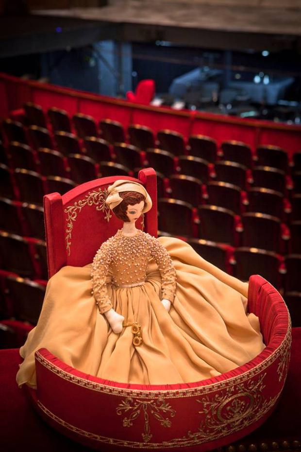 Кукла от Georges Hobeika