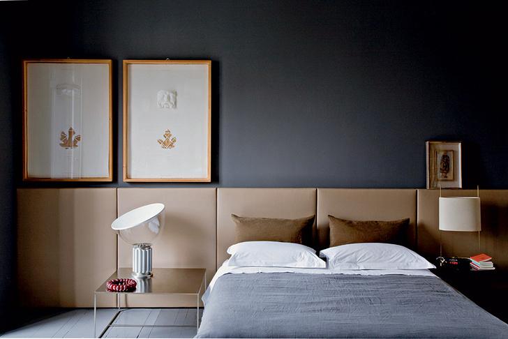 Низкая кровать: 30+ примеров для спальни (галерея 2, фото 18)