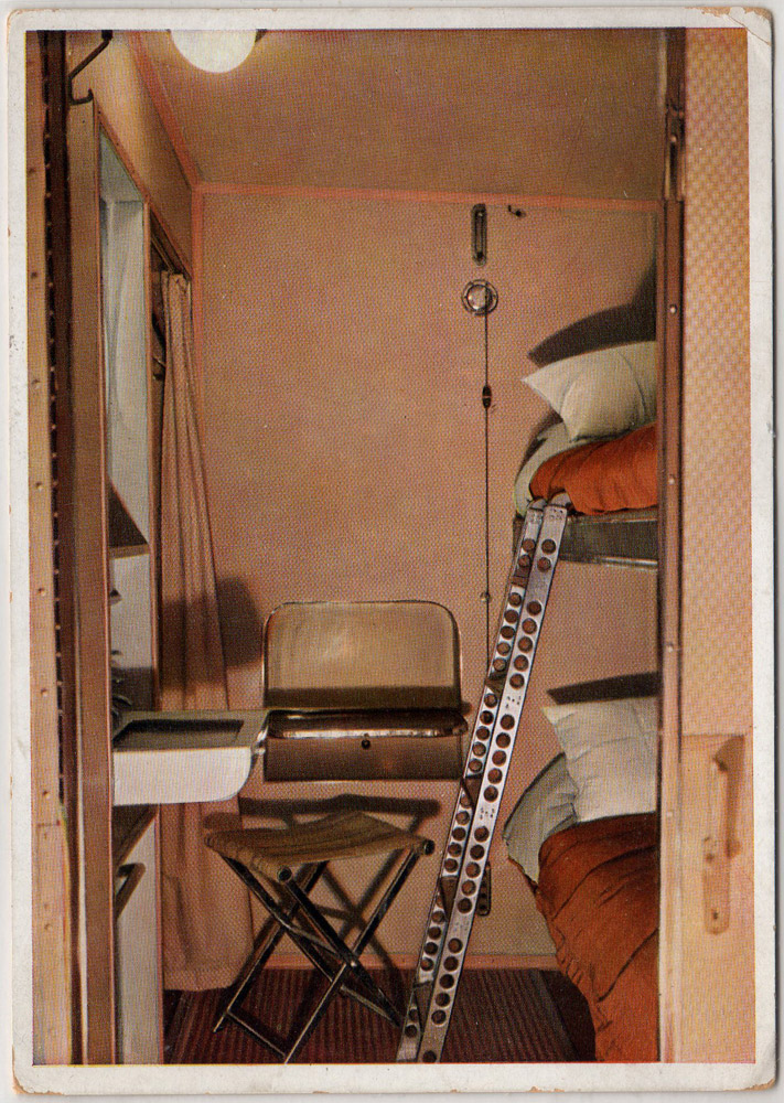 Интерьеры дирижабля «Гинденбург» (фото 14)