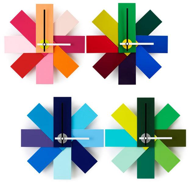 Успеть до полуночи! Дизайнерские настенные часы к Новому Году (фото 6)