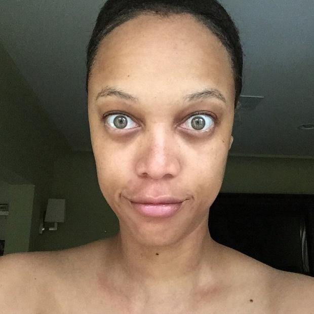Тайра Бэнкс без макияжа: фото
