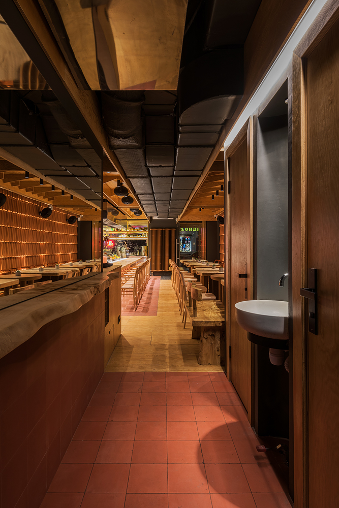 Японский бар Hachiko Bar & Kitchen в Москве (фото 5)