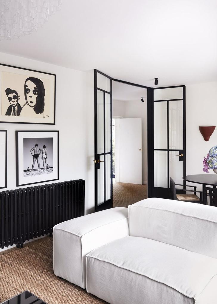Монохромный интерьер квартиры в Австралии (фото 4)