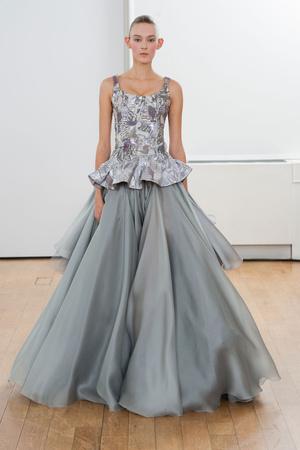 Показ Julien Fournie коллекции сезона Весна-лето 2014 года Haute couture - www.elle.ru - Подиум - фото 574966