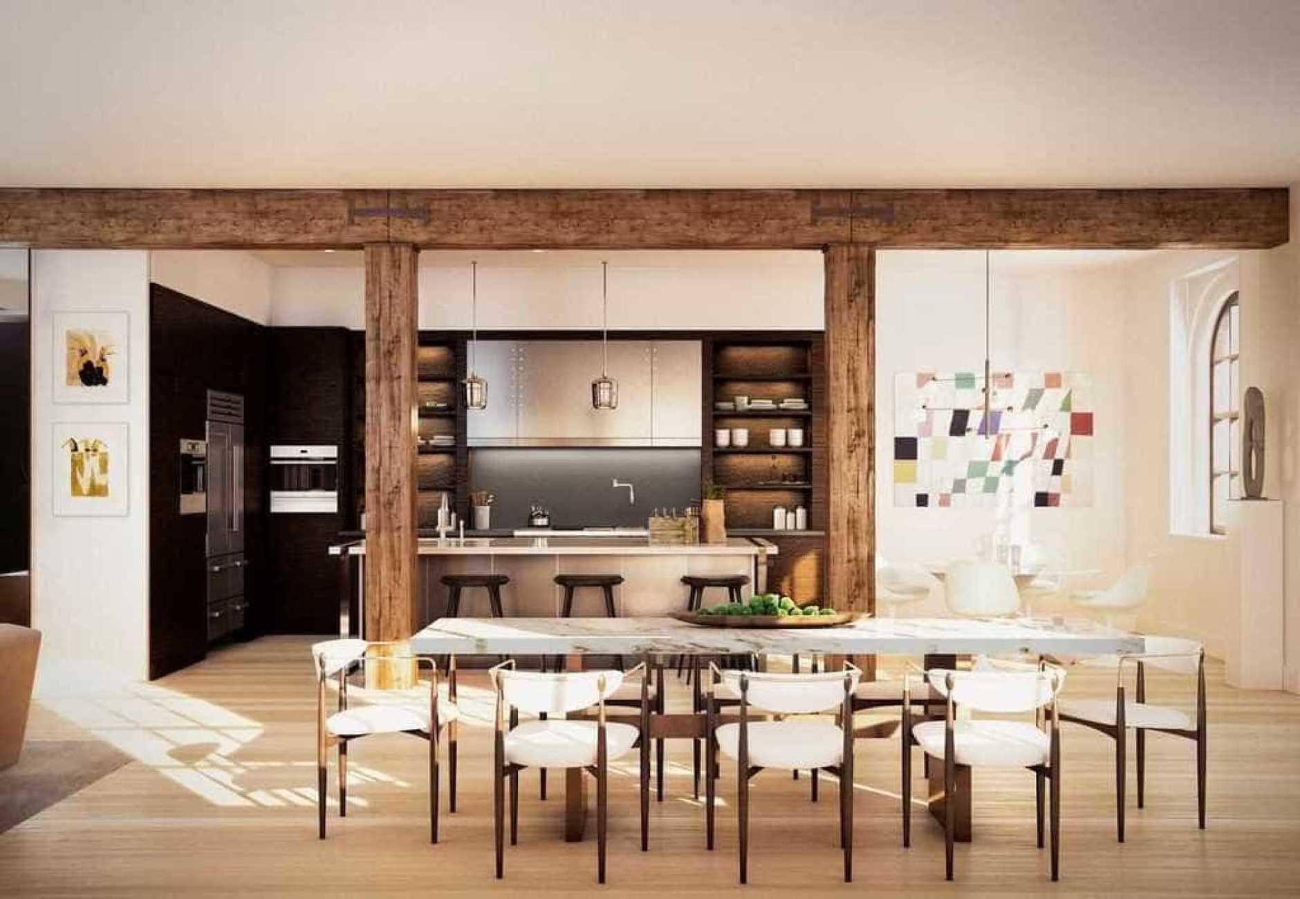 В гостях у звезды: новый пентхаус Джастина Тимберлейка в Нью-Йорке (галерея 4, фото 4)
