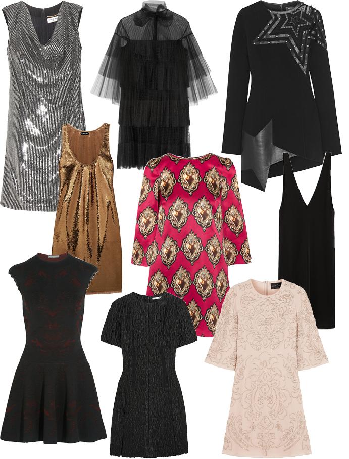 Выбор ELLE: Saint Laurent, Valentino, Anthony Vaccarello, Tom Ford, Dolce&Gabbana, Zara, Alexander McQueen, Carven, Needle&Thread,