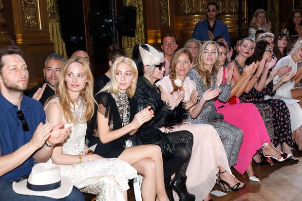 Звезды на показе Schiaparelli Couture в Париже (фото 0)