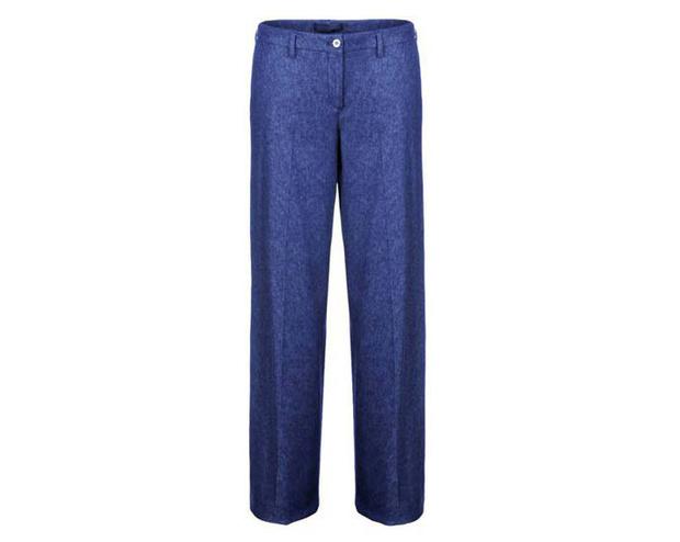 стилизация джинсов под брюки