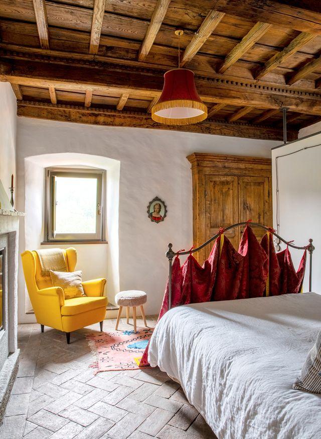 La Fortezza: каменный дом XII века в Италии (фото 14)