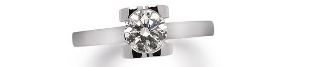 Кольцо, белое золото, бриллиант, Chopard, 726 800 руб.